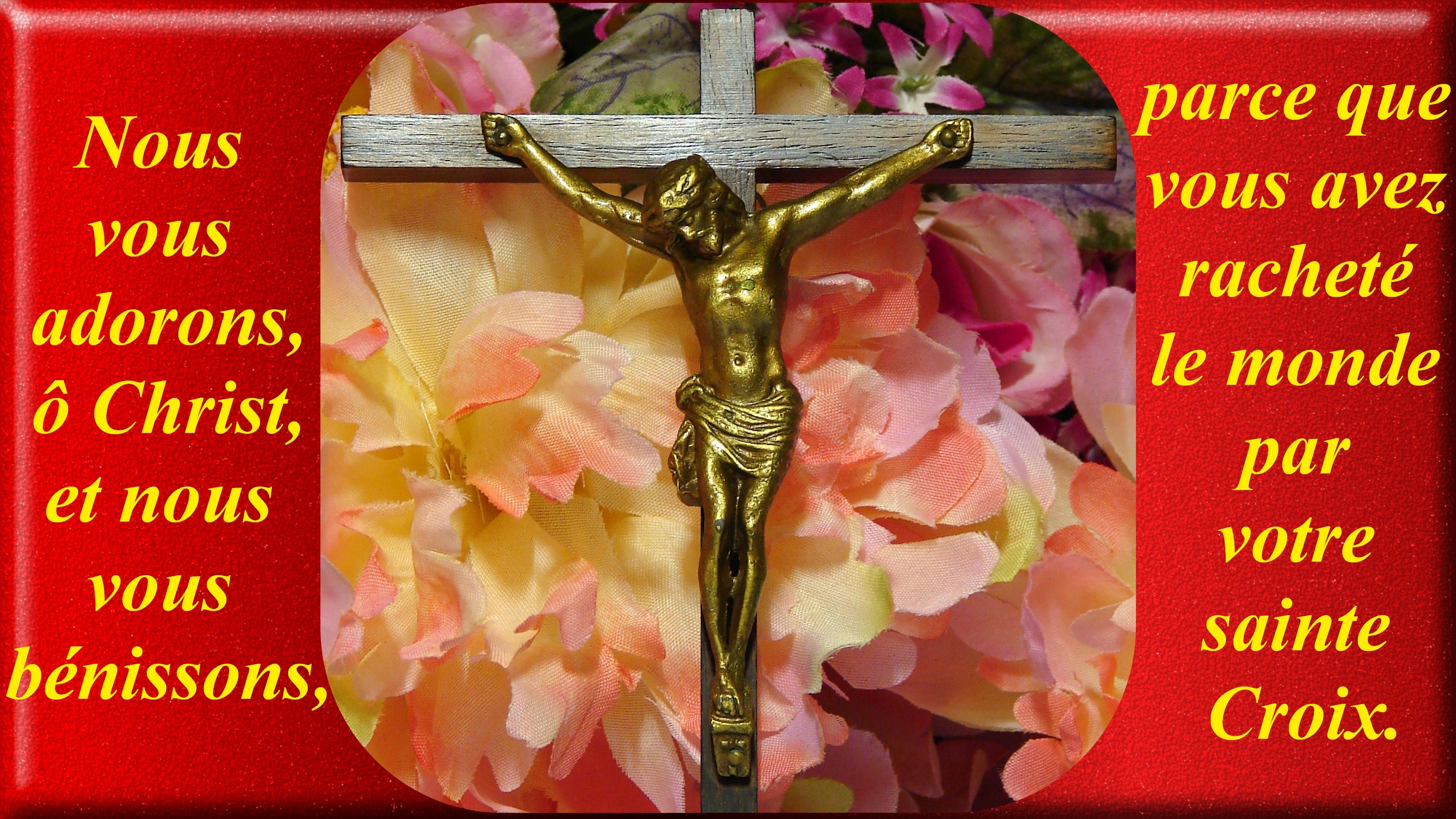 CALENDRIER CATHOLIQUE 2019 (Cantiques, Prières & Images) - Page 9 Le-crucifix-5690617