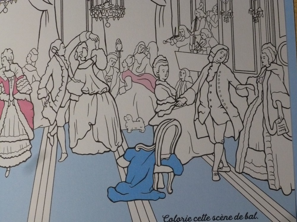 Un cahier d'activités Marie-Antoinette! Par les éditions du Patrimoine. P1070148-56c973c