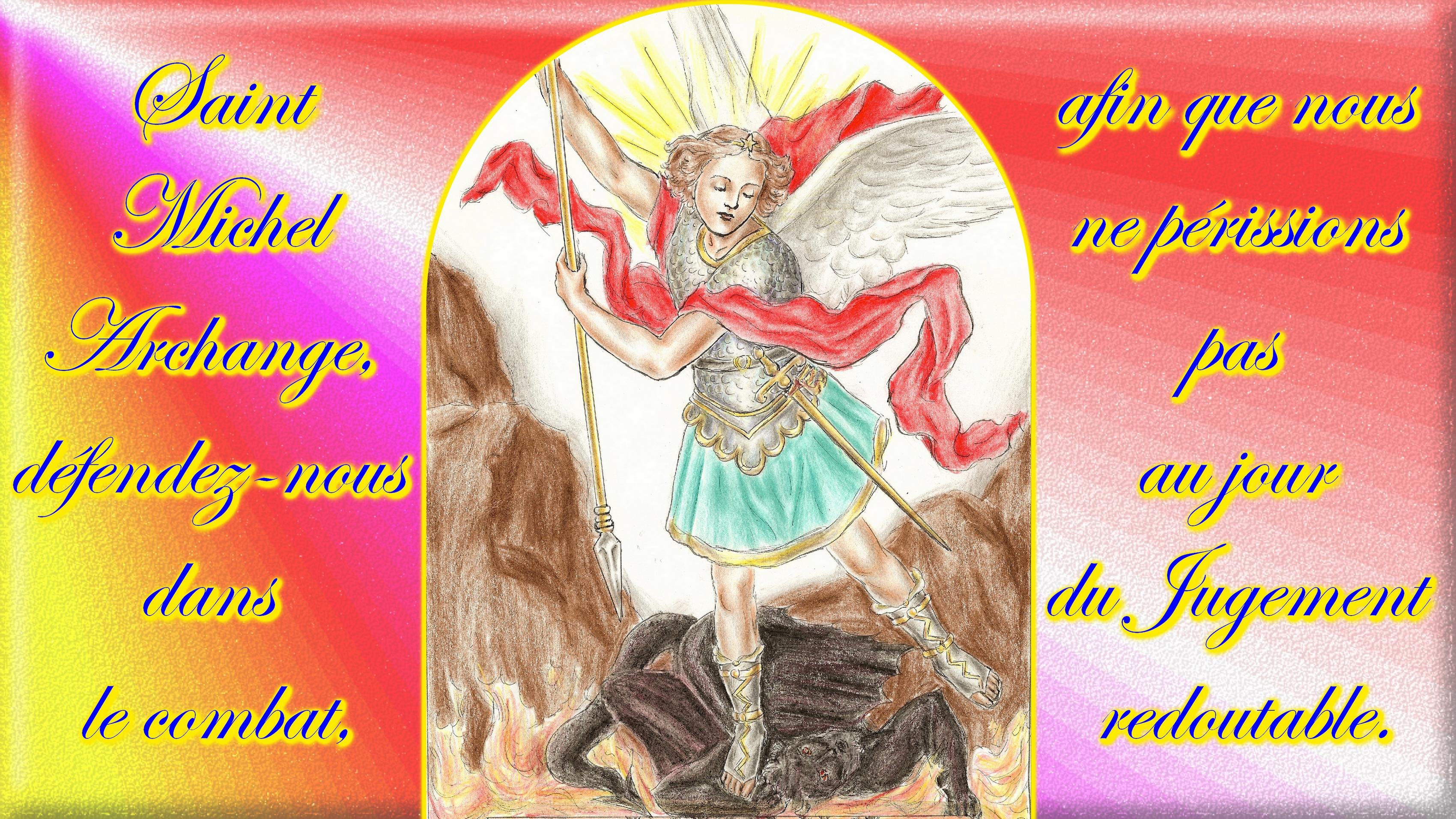 CALENDRIER CATHOLIQUE 2019 (Cantiques, Prières & Images) - Page 10 St-michel-archang...-combat.-569cf5e