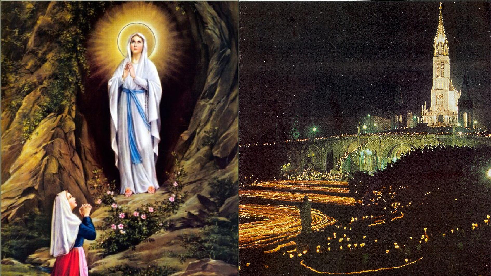 CALENDRIER CATHOLIQUE 2020 (Cantiques, Prières & Images) - Page 6 Apparition-de-not...urdes-1--5712f81