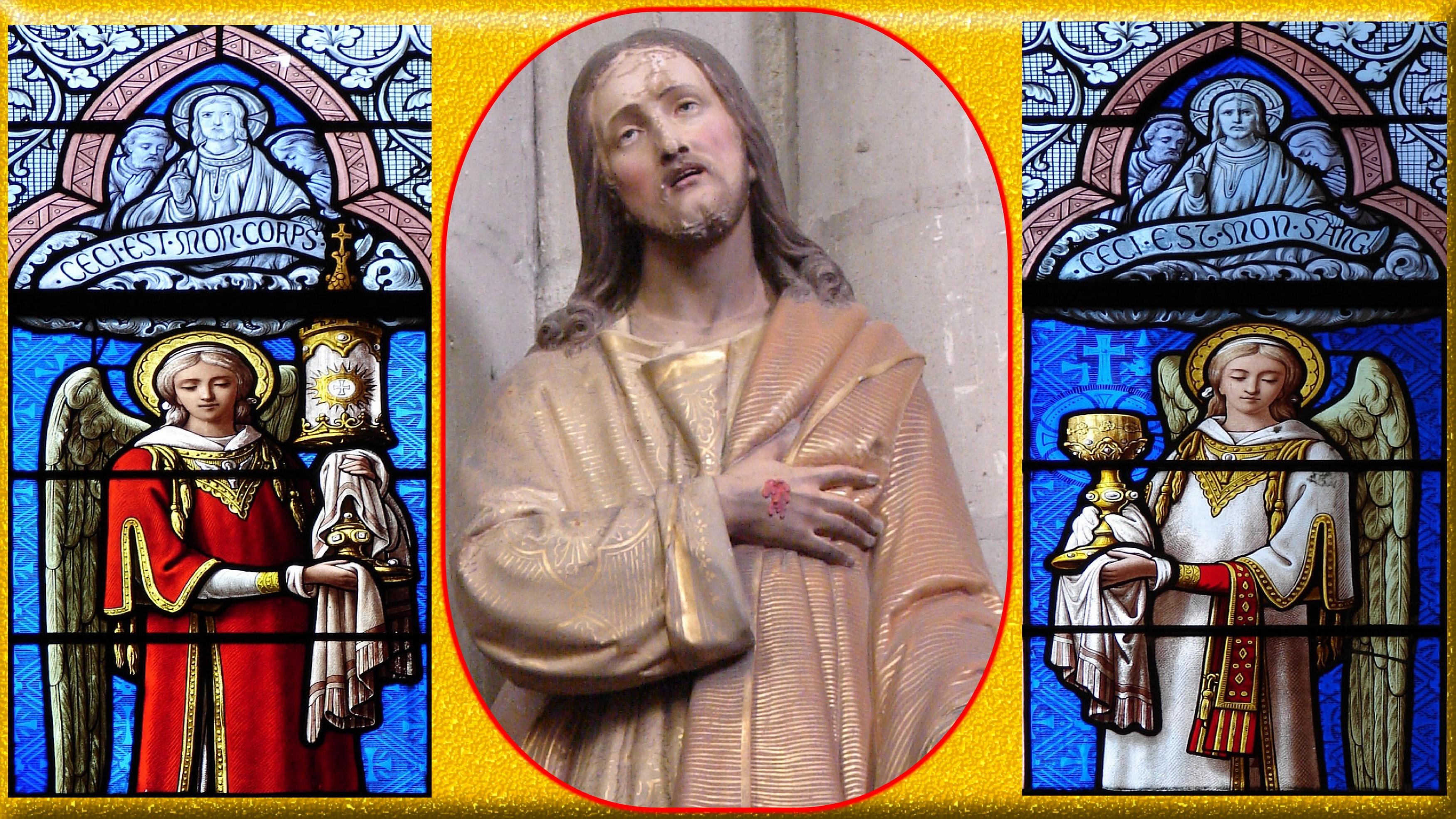 CALENDRIER CATHOLIQUE 2020 (Cantiques, Prières & Images) - Page 6 J-sus-outrag-au-s...acrement-57143eb