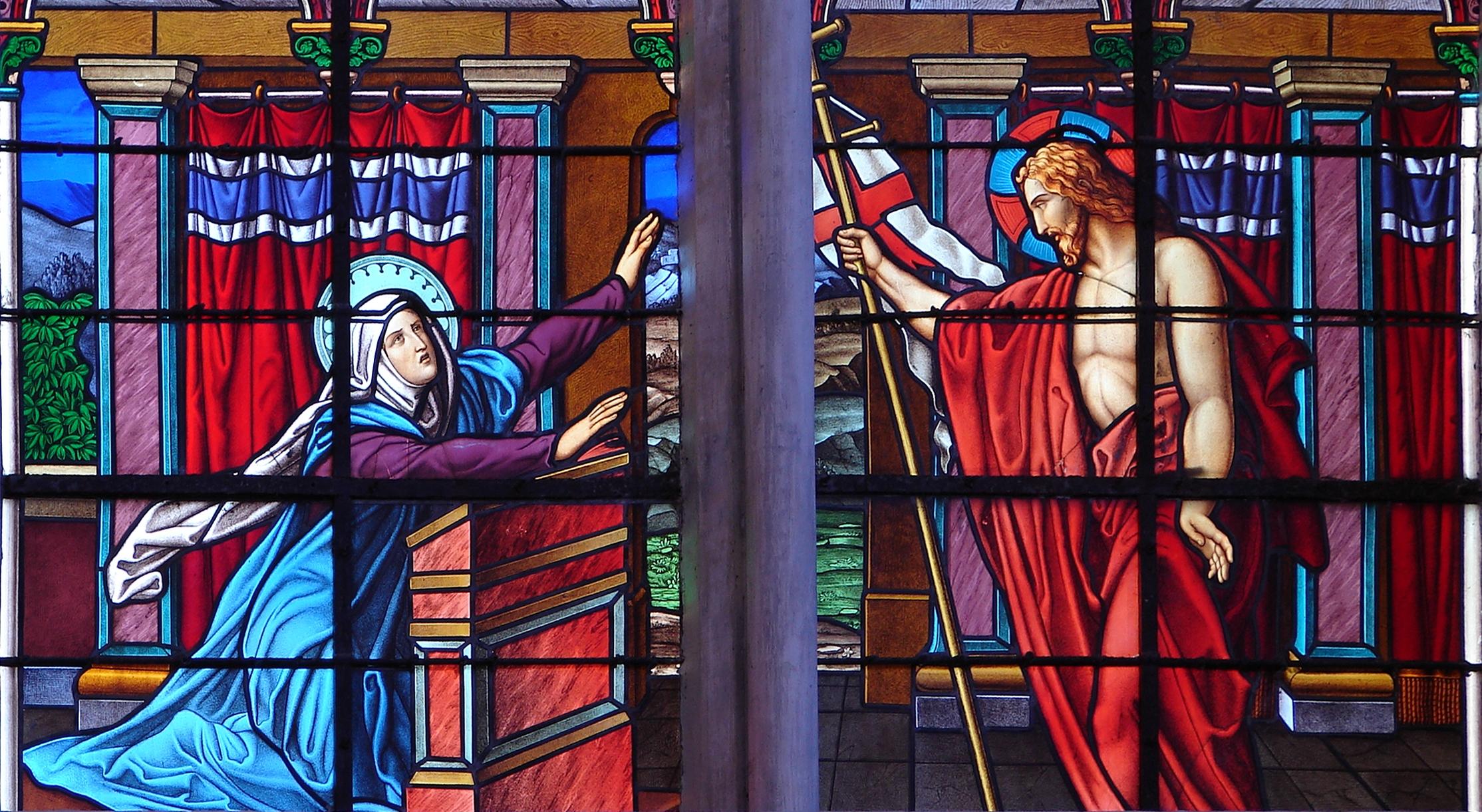CALENDRIER CATHOLIQUE 2020 (Cantiques, Prières & Images) - Page 11 J-sus-ressuscit-a...marie-1--574600c